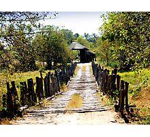 Odavango Bridge Photographic Print
