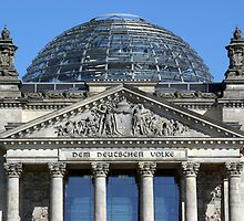 Reichstagskuppel by fuxart