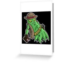 ghoul gangster: oscar vino Greeting Card