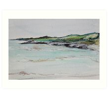 Turquoise Bay, Exmouth Art Print