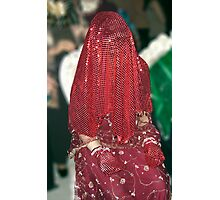 Henna bride Photographic Print