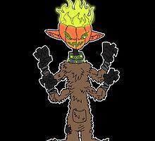 jack: hallow eve's ghoul by kangarookid