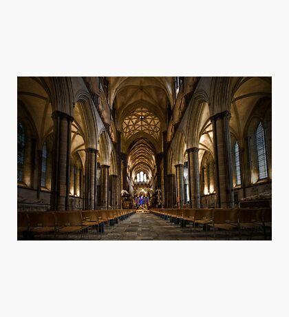 Salibury Cathedral Photographic Print