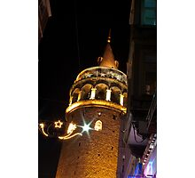 Istanbul by Night Photographic Print