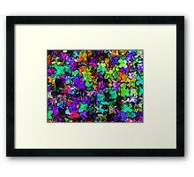 Multitude Framed Print