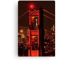 San Francisco Christmas  Canvas Print