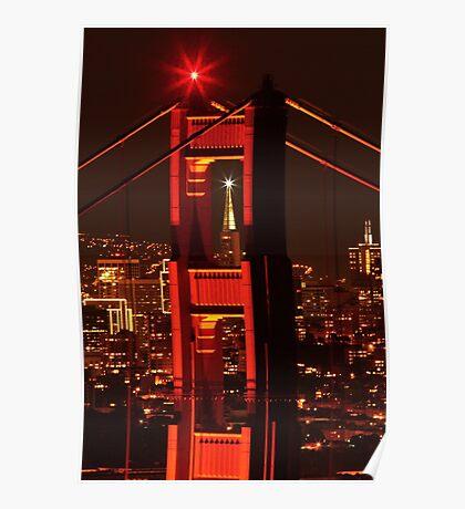 San Francisco Christmas  Poster
