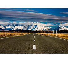 Road to Mount Cook Photographic Print