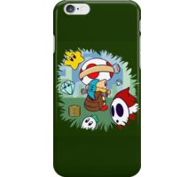 Treasure Tracked: Captain Toad's Fortune (Alt Version. No text) iPhone Case/Skin