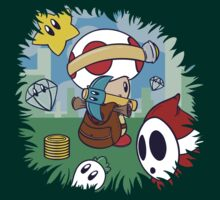 Treasure Tracked: Captain Toad's Fortune (Alt Version. No text) T-Shirt