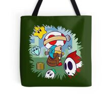 Treasure Tracked: Captain Toad's Fortune (Alt Version. No text) Tote Bag