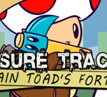 Treasure Tracked: Captain Toad's Fortune Sticker