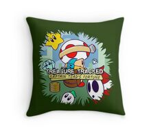 Treasure Tracked: Captain Toad's Fortune Throw Pillow