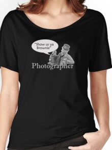 Show us ya Brownie Women's Relaxed Fit T-Shirt