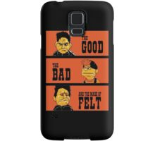 Angel - The Good, the bad, and the made of felt Samsung Galaxy Case/Skin