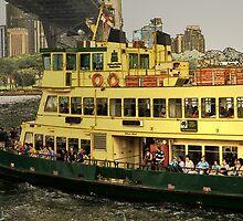 Ferry ride . . .  by Rosalie Dale