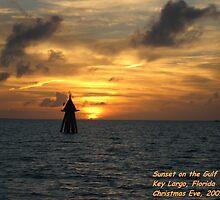 Sunset, Key Largo, Florida by Sarahmaltby