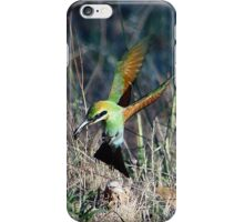 Bee-eater Touch Down iPhone Case/Skin