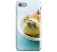 Tiny apples and leaf iPhone Case/Skin