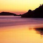 Sunset - Squeaky Beach by Travis Easton