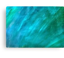 Blue Painting Canvas Print