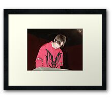 Paradyme's new addition Chris Framed Print