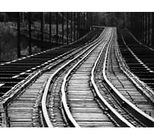 Tracks Photographic Print