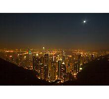 Hong Kong In a Rice Bowl Photographic Print