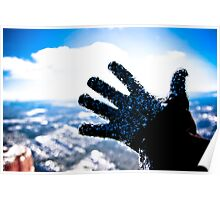 Freezing Hand Poster