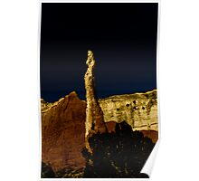 Rock Tower Poster