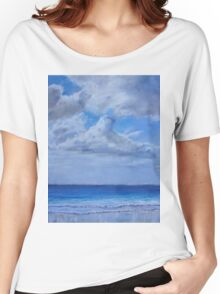Clouds over sea Women's Relaxed Fit T-Shirt