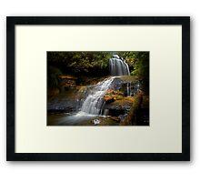 Lyrebird Glen Falls. Framed Print
