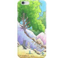 Woodland Creatures Meet Up iPhone Case/Skin