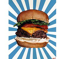 Cheeseburger Photographic Print
