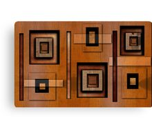 Blocks 'o' Wood Canvas Print
