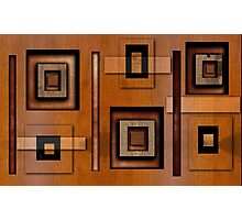 Blocks 'o' Wood Photographic Print