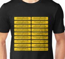 Logical Fallacy - Batch Poster Unisex T-Shirt