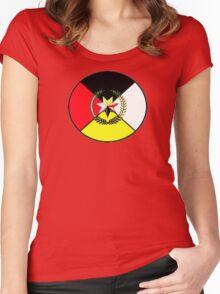 Cherokee Medicine Wheel Women's Fitted Scoop T-Shirt