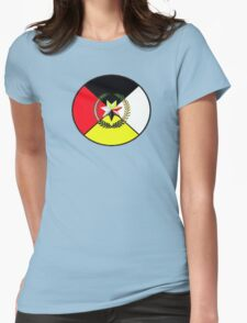 Cherokee Medicine Wheel Womens Fitted T-Shirt