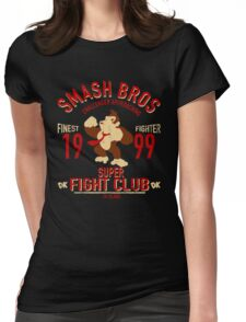 Dk Island Fighter Womens Fitted T-Shirt