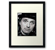 Rik Mayall Framed Print