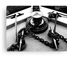 Anchor Chain Twists Canvas Print