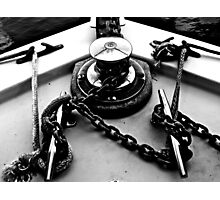 Anchor Chain Twists Photographic Print