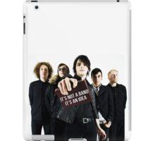 It's not a band, It's an idea. iPad Case/Skin