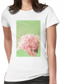 Pale flowers Womens Fitted T-Shirt