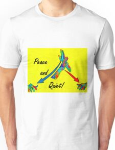 American Sign Language Peace and Quiet Unisex T-Shirt