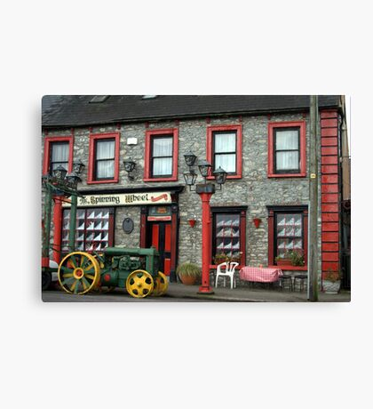 AN IRISH PUB  Canvas Print