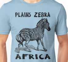 PLAINS ZEBRA Unisex T-Shirt
