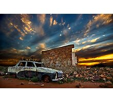 Dream House and Car Photographic Print