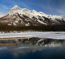 Yoho Mountains by Robert Mullner